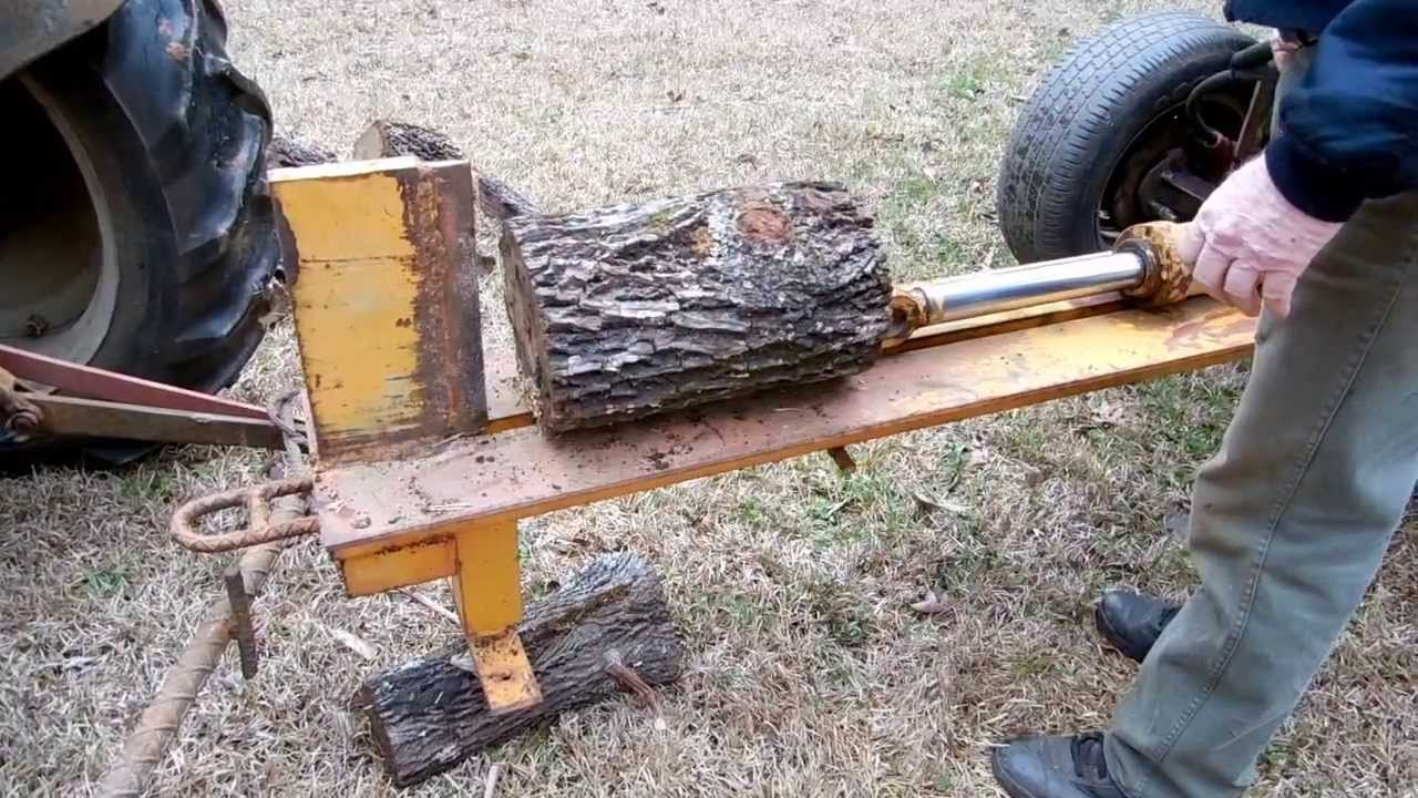 How To Make A Homemade Log Splitter