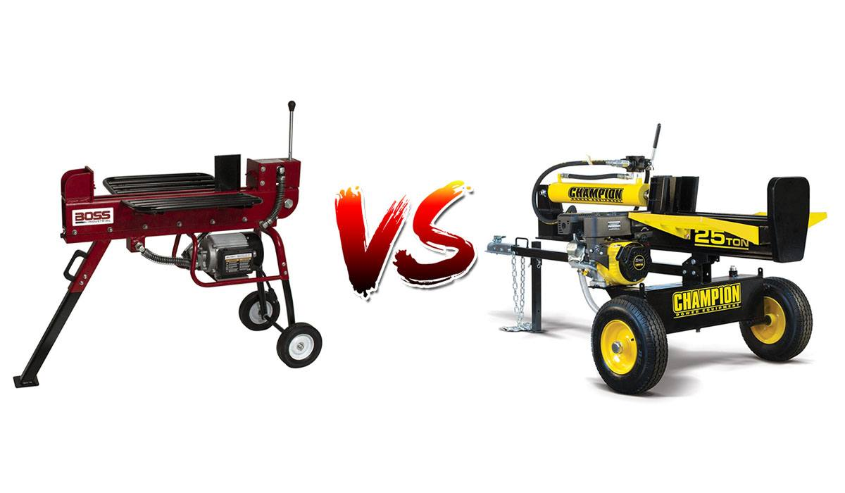 Which One Should You Buy Electric Vs Gas Log Splitters