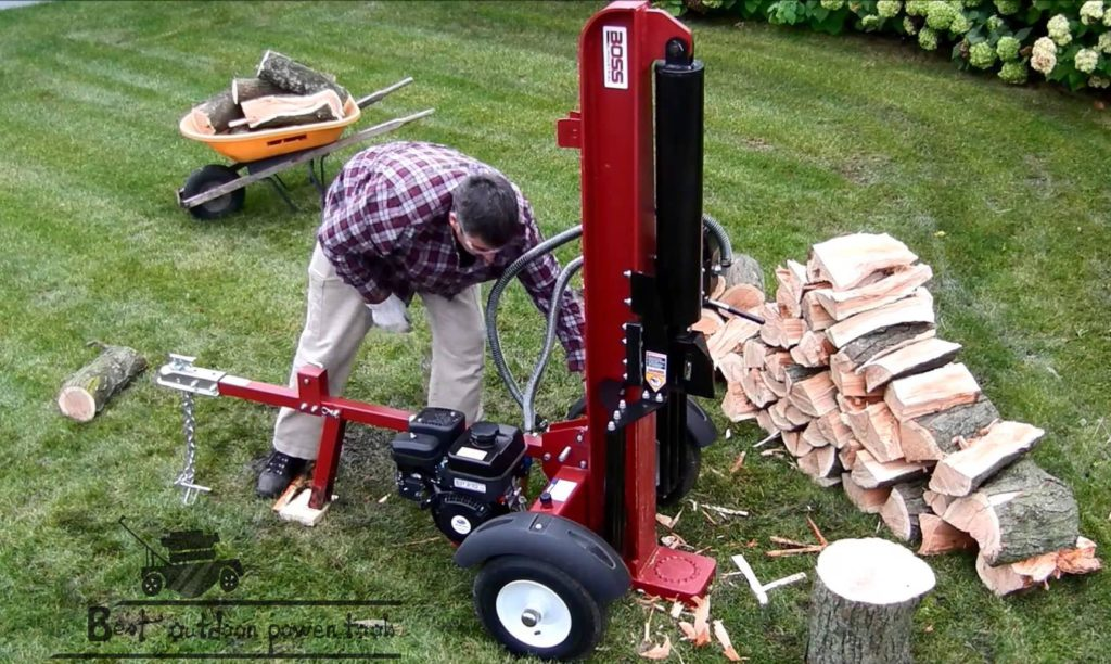 Portable Log Splitter