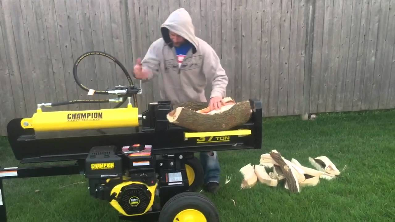 Champion Log Splitter Review