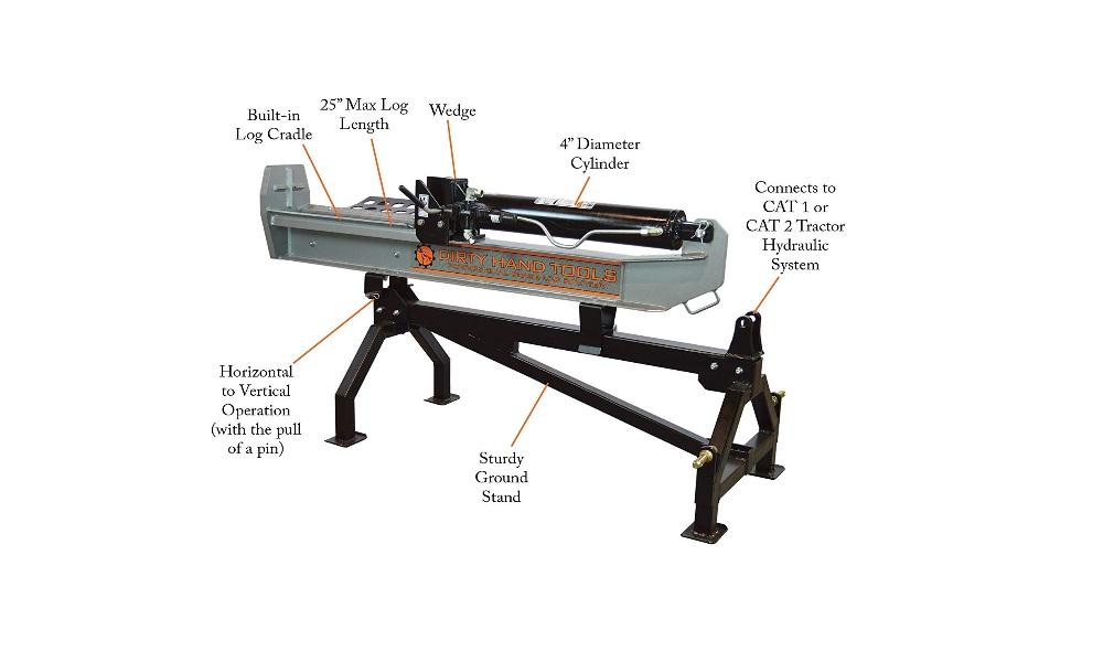 Dirty Hand Tools 100450 Log Splitter