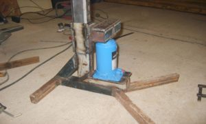 Set your own log Splitter with the Hydraulic Jacks