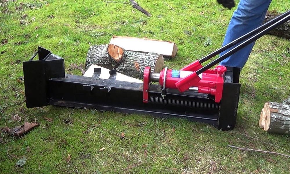 Wel-Bilt Horizontal Manual Hydraulic Log Splitter
