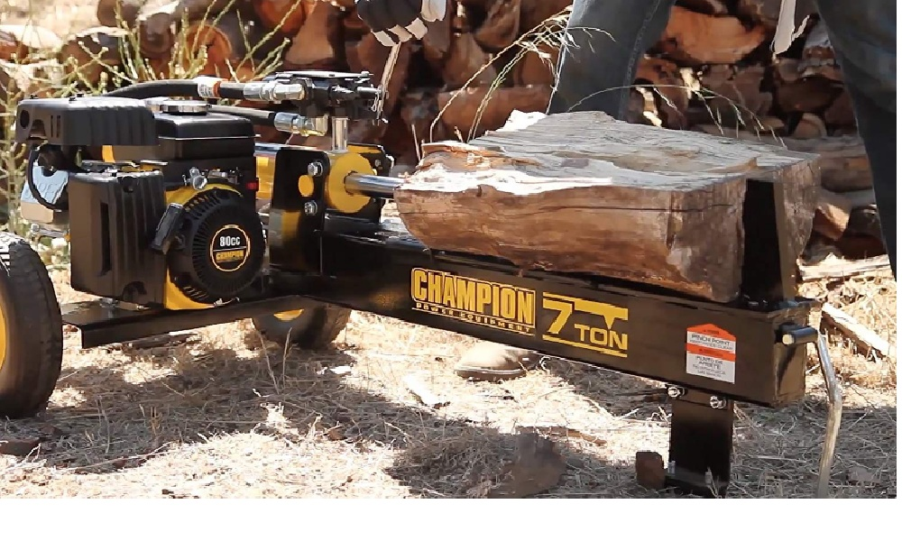 Champion 7-Ton Gas Log Splitter with Auto Return